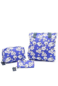 Peony Floral Print Bag Collection - Shopper - Fashion Scarf World