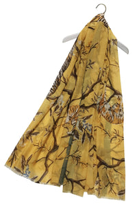 Oriental Tiger Print Scarf - Fashion Scarf World