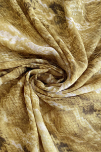 Snakeskin Print Scarf - Fashion Scarf World