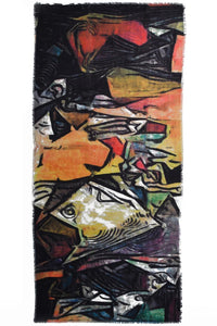 Picasso Painting Print Scarf - Fashion Scarf World