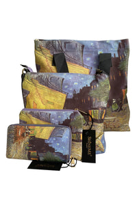 Van Gogh Terrace At Night Print - Purse - Fashion Scarf World