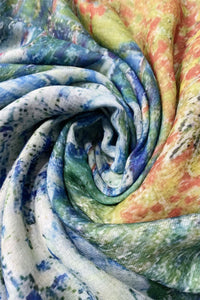 Van Gogh Poppy Field Print Scarf - Fashion Scarf World