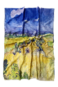Van Gogh Haystacks Print Scarf - Fashion Scarf World