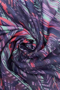 African Print Tasselled Corner Scarf - Fashion Scarf World