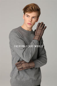 Douglas Tartan Men Gloves - Fashion Scarf World