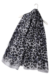 Animal Leopard Print Silk Scarf - Fashion Scarf World