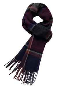 Classic Check Tartan Wool Unisex Scarf - Fashion Scarf World