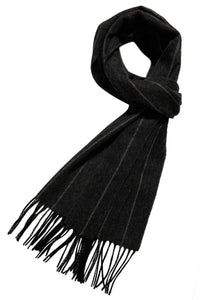 Pin Stripe Wool Unisex Scarf - Fashion Scarf World