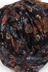 Mixed Wildflowers Print Scarf - Fashion Scarf World