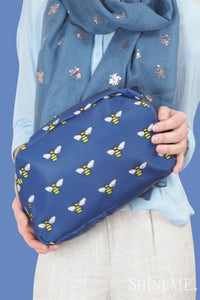 Bee Insect Print Bag Collection - Wash Bag - Fashion Scarf World