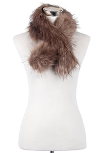 Short Faux Fur Collar - Fashion Scarf World