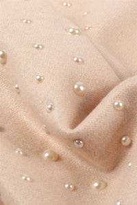 Scattered Pearl Edge Poncho - Fashion Scarf World