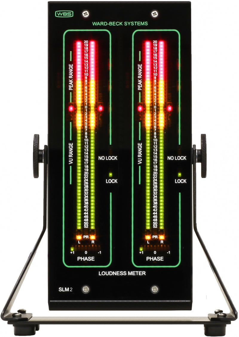 SLM2D/75 Audio Level Meter Digital 75 Ohm LED Bargraph
