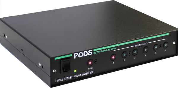 POD2 Analog Audio Switcher with Summing