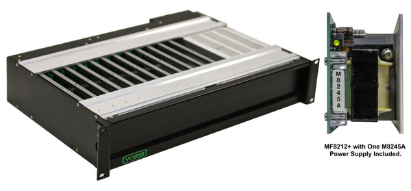 MF8212+PS 8200 Series Silent Fanless Frame 2RU Rackmount