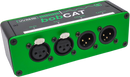 QTP-BOBCAT-FM XLR RJ45 Breakout Box CAT5 CAT6