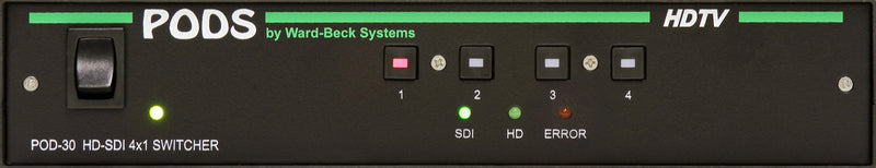 POD30 HD/SDI/ASI Video Switcher