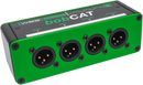 QTP-BOBCAT-M XLR RJ45 Breakout Box CAT5 CAT6