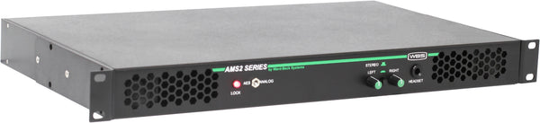 AMS2 Audio Cue Speaker Digital Analog 1RU Rackmount
