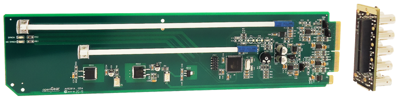 AV6201A+RM openGear Analog Video DA