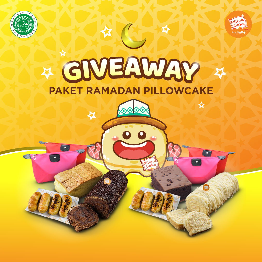 Giveaway Pillowcakebdg Paket Ramadan