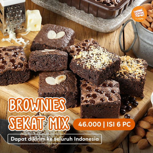 [NEW!] Brownies Sekat Mix by Pillowcake