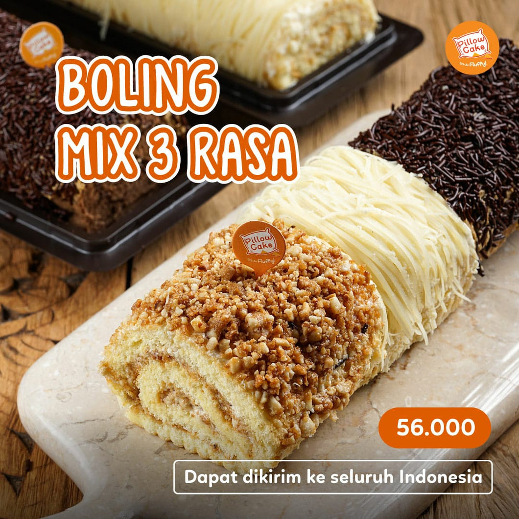 [NEW!] Bolu Guling - Mix 3 Rasa by Pillowcake