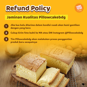 PillowCake Rasa Coklat