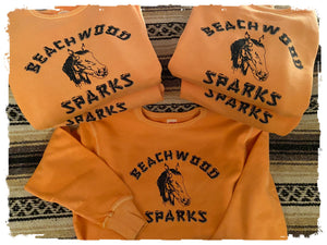 Beachwood Sparks Repro Horsey Crewneck Sweatshirt - Curation Records