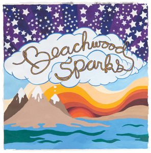Beachwood Sparks - Neon Lasso Logo 20th Anniversary Long-sleeve Tee - Curation Records