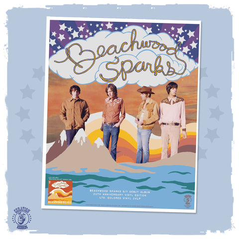 Beachwood Sparks Poster - Curation Records (4899063300178)