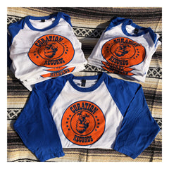 Curation Large Logo Raglan Tee - Curation Records (4372600946770)