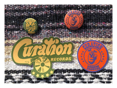 Curation Records Badge and Sticker Set Combo (4598720626770)