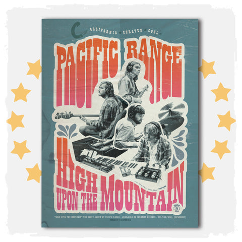 Pacific Range  Poster - Curation Records (4511671418962)