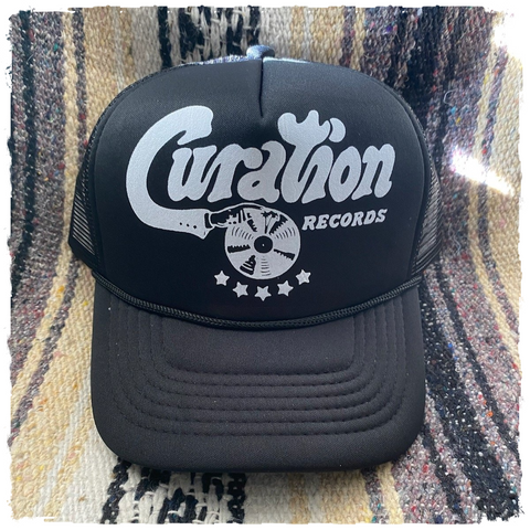 Curation Records Trucker Cap - Curation Records (4798953422930)