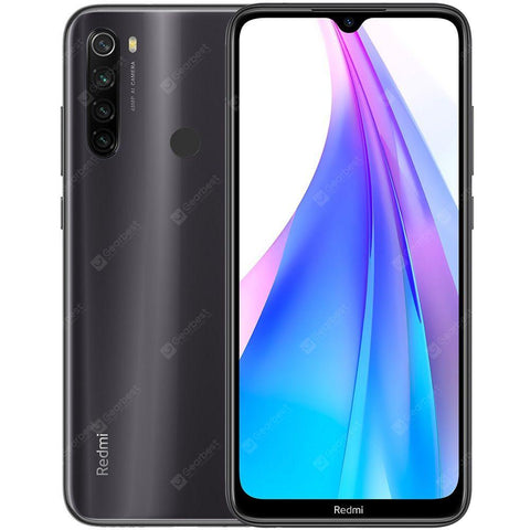 Xiaomi Redmi Note 8T 4G Smartphone 6.3 inch Snapdragon 665 Octa Core 4GB RAM 64GB ROM 4 Rear Camera 4000mAh Battery Global Version