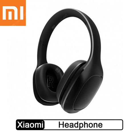 Xiaomi Bluetooth Wireless Headphones 4.1 Version Bluetooth Headset aptX 40mm Dynamic PU Earphone