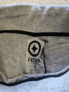 Fatum Ladies Terry Shorts - Grey