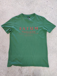 fatum fishing tee in green