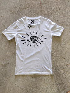 Fatum Bige Eye T-shirt White
