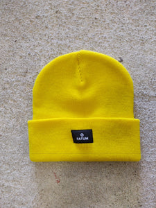 Fatum Sea Dog Beanie in Yellow