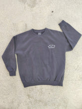 Load image into Gallery viewer, fatum ladies emporium sweatshirt in thunder grey