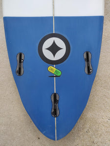"Fatum Chill Pill 5'8"" - Dark Blue Tail"