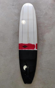 "Fatum Majestic 9'2"" - Black/Red Stripe Triple Stringer"