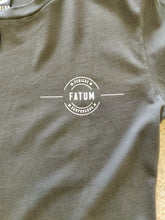 Load image into Gallery viewer, Fatum Ringer T-shirt - Dark Grey