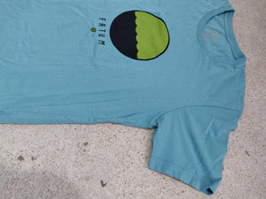 Fatum Telescope Tee - Sea Blue