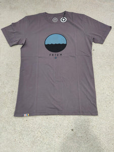 Fatum Telescope Tee in Grey