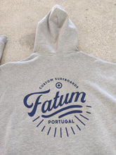 Load image into Gallery viewer, Fatum Ladies Sunrise Hoodie in Concrete