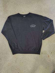 Fatum Ladies Emporium Sweatshirt in Thunder Grey