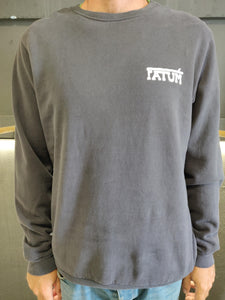 Fatum Western Sweatshirt in Dark Blue